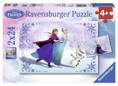Ravensburger Disney Puzzle Ledové království 2x24 dílků