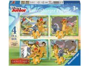 Ravensburger Disney Puzzle Lion Guard 4x puzzle v boxu