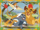 Ravensburger Disney Puzzle Lion Guard 4x puzzle v boxu 5