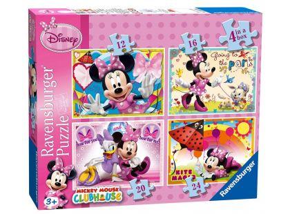 Ravensburger Disney Puzzle Mickey Mouse 4x puzzle v boxu