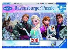 Ravensburger Disney Puzzle Panorama Ledové království 200 dílků
