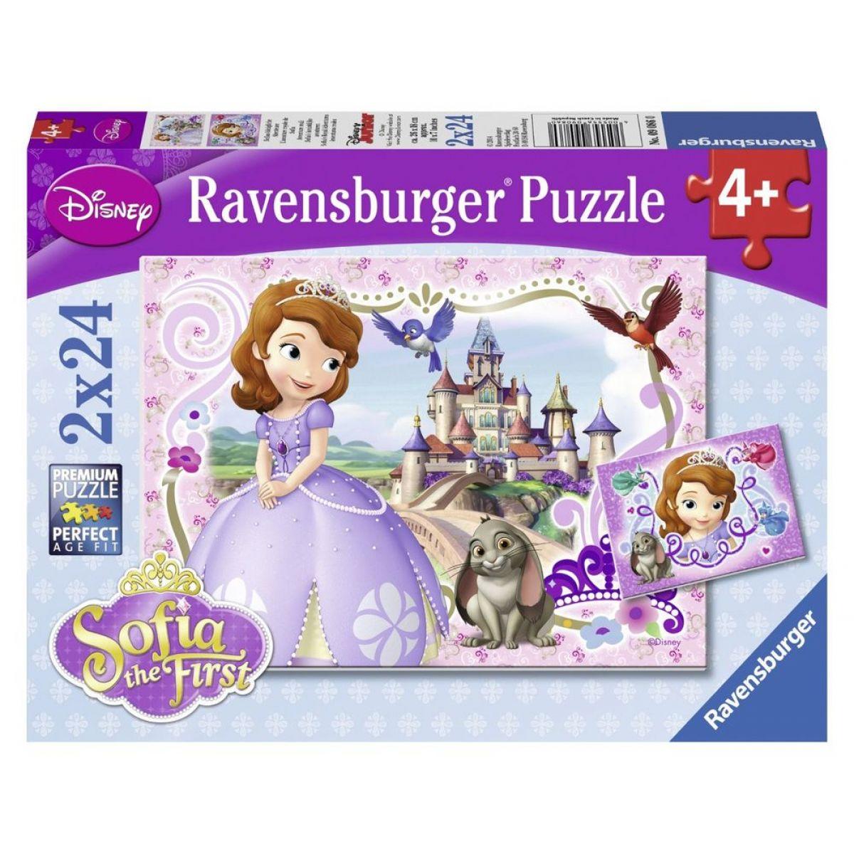 Ravensburger Disney Puzzle Princezna Sofia 2x24 dílků