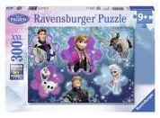 Ravensburger Disney Puzzle XXL Ledové království - Ledová královna 300 dílků