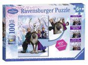 Ravensburger Disney Puzzle XXL Ledové království - rozdíly 100 dílků