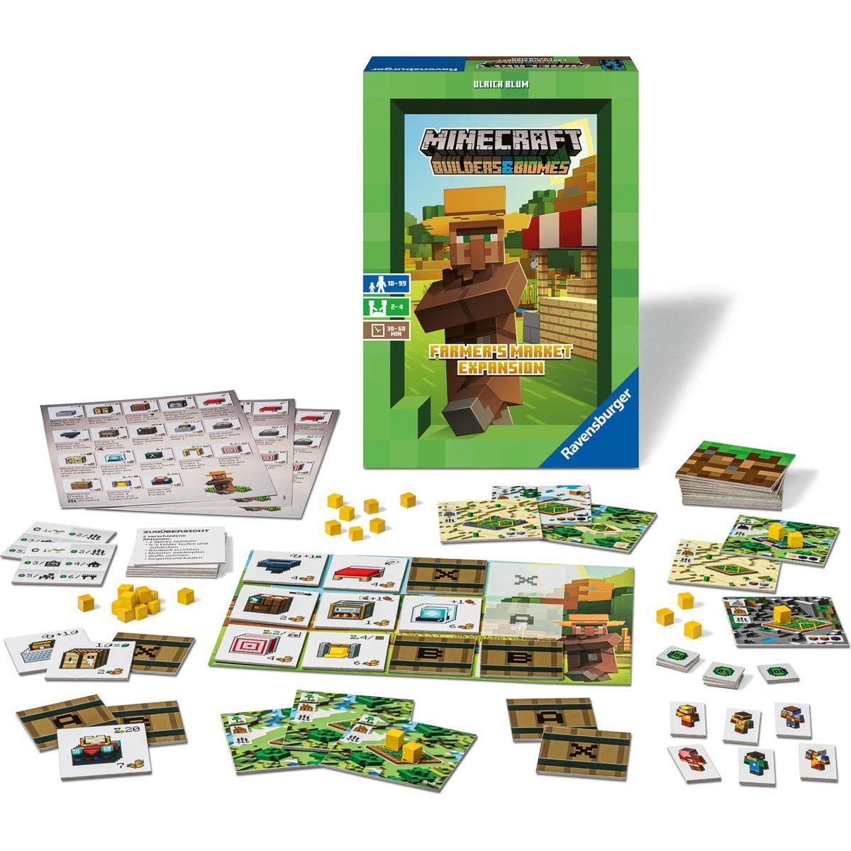 Ravensburger hra 269907 Minecraft Farmer's Market rozšíření