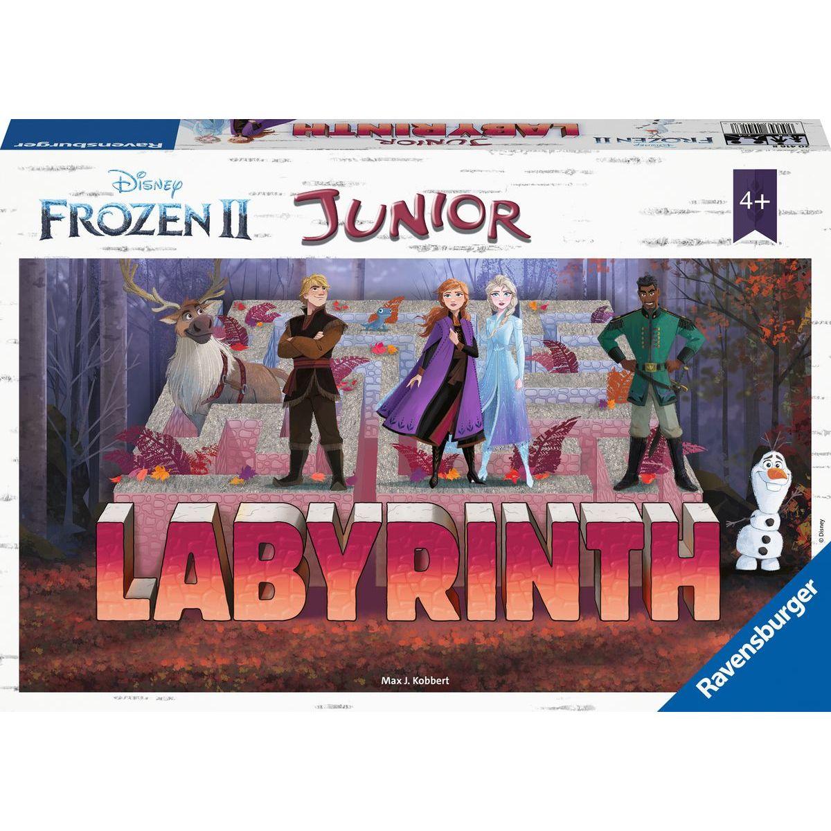 Ravensburger hry 204991 Labyrinth Junior Disney Ledové království 2