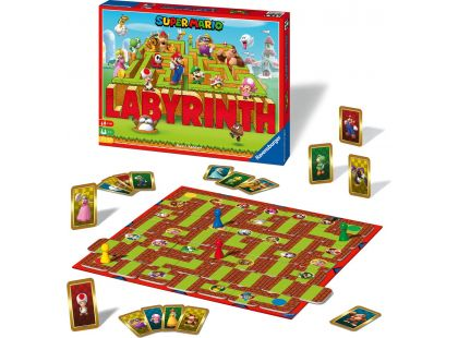 Ravensburger hry 272655 Labyrinth Super Mario