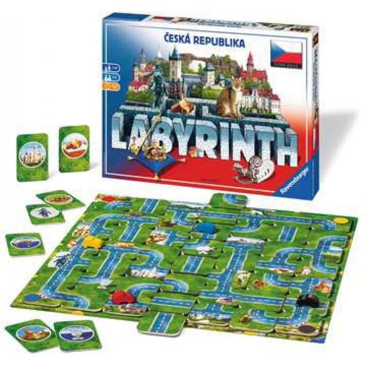Ravensburger Labyrinth Česká republika
