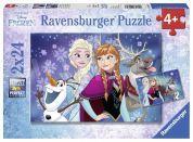 Ravensburger Ledové království Puzzle 2x24 dílků
