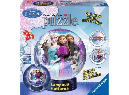 Ravensburger Ledové království Puzzleball svítící 3D 72 dílků
