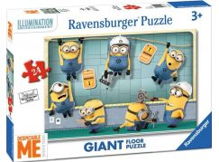 Ravensburger Mimoni v práci puzzle 24 dílků