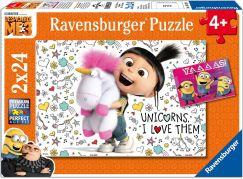 Ravensburger Mimoňové Já Padouch 3 Agnes 2x24 dílků