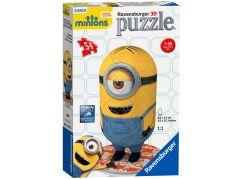 Ravensburger Mimoňové Puzzle 3D postavička 54 dílků