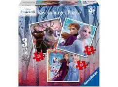 Ravensburger puzzle 030330 Disney Ledové království 2 3 v 1