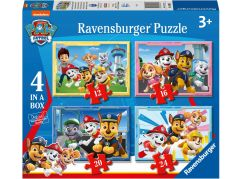 Ravensburger puzzle 030651 Tlapková patrola 4 v 1