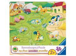 Ravensburger Puzzle 036837 Malá farma 9 dílků