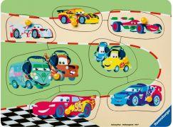 Ravensburger Puzzle 036868 Disney Auta 3 rodina 9 dílků