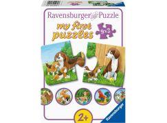 Ravensburger puzzle 050727 Zvířátka na dvoře 9x2 dílků