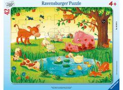 Ravensburger puzzle 050758 Zvířátka 42 dílků