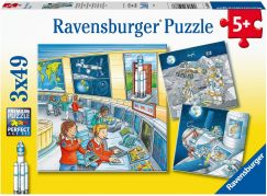 Ravensburger puzzle 050888 Astronauti 3x49 dílků
