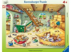 Ravensburger puzzle 050925 Psi a kočky 12 dílků