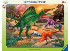 Ravensburger puzzle 050949 Dinosaurus 47 dílků