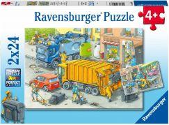 Ravensburger puzzle 050963 Likvidace odpadu 2x24 dílků