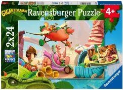 Ravensburger puzzle 051267 Gigantosaurus 2x24 dílků