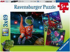 Ravensburger Puzzle 051274 Dinosauří svět 3x49 dílků