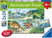 Ravensburger Puzzle 051281 Dinosauři 2x24 dílků
