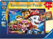 Ravensburger Puzzle 051540 Tlapková patrola Záchranáři 2x24 dílků