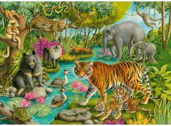 Ravensburger Puzzle 051632 Lesy Indie 60 dílků