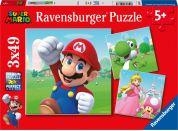 Ravensburger Puzzle 051861 Super Mario 3x49 dílků