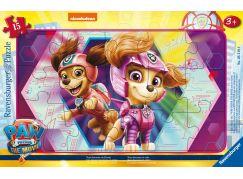 Ravensburger Puzzle 052196 Tlapková patrola Dvojice statečných záchranářů 15 dílků