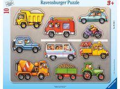 Ravensburger Puzzle 052325 Vozidla 10 dílků