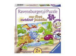 Ravensburger Puzzle 056118 Dinosauří přátelé 12 plast. dílků