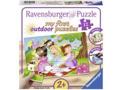 Ravensburger Puzzle 056125 Sladké princezny 12 plastových dílků
