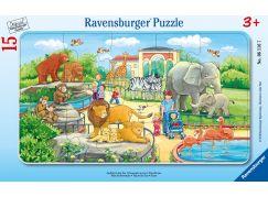 Ravensburger Puzzle 061167 Výlet do zoo 15 dílků