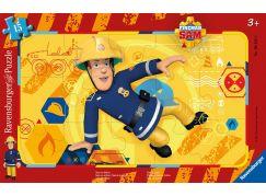 Ravensburger Puzzle 061259 Požárník Sam v akci 15 dílků