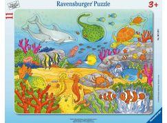 Ravensburger Puzzle 061495 Šťastní mořští obyvatelé 11 dílků
