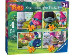 Ravensburger puzzle 069729 Trollové 4 v 1