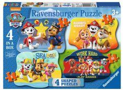 Ravensburger puzzle 069798 4v1 Tlapková patrola 4 6 8 10 dílků