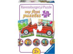 Ravensburger puzzle 070367 Městská doprava 9x2 dílků
