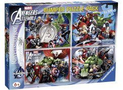 Ravensburger puzzle 070763 Marvel set 4x100 dílků