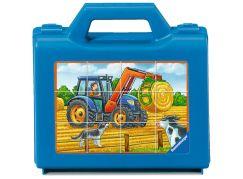 Ravensburger Puzzle 074327 Vozidla na farmě 12 dílků