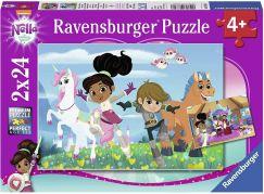 Ravensburger puzzle 078318 Nella princezna rytířů 2x24 dílků