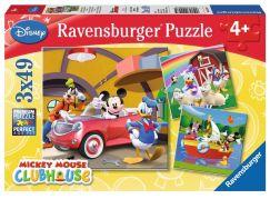 Ravensburger Puzzle 092475 Mickeyho Klubík 3x49 dílků