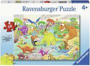 Ravensburger puzzle 095162 Dinosauři a čas 60 dílků