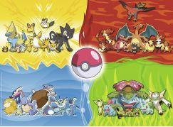 Ravensburger Puzzle 100354 Druhy Pokémonů 150 dílků