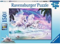 Ravensburger puzzle 100576 Jednorožec na pláži 150 XXL dílků